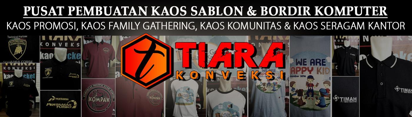 Pusat Pembuatan Kaos Sablon dan Polo Shirt Bordir Jakarta Tangerang