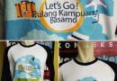 Pembuatan Kaos Sablon Family Gathering Pulang Kampung
