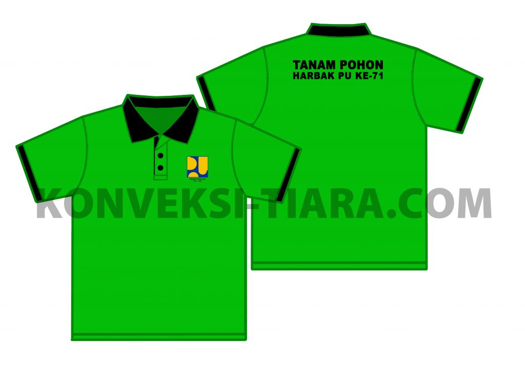design kaos polo bordir