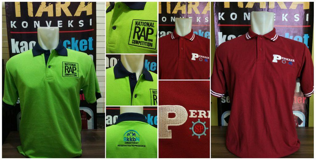 polo shirt bordir