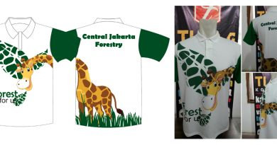 Pembuatan Polo Shirt Sablon Jakarta Central Forestry