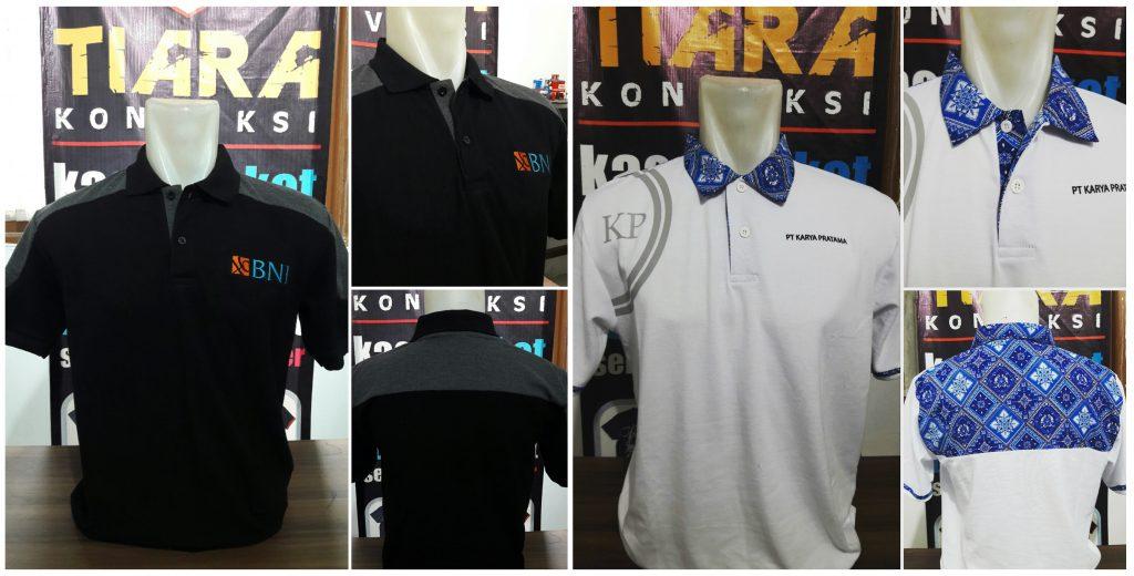 Pembuatan Polo Shirt Bordir di Tangerang